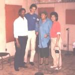 Orlando Sánchez, Ramón Núñez, Lydia Hernández y Enid Isaac.