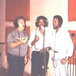 Luís Moraza, Orlando Sánchez y Willie Newton